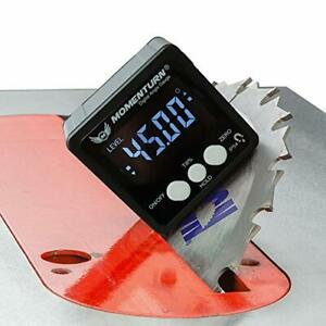 Level Box Digital Angle Finder Tool Miter Gauge Inclinometer Mini Table Saw $34.38