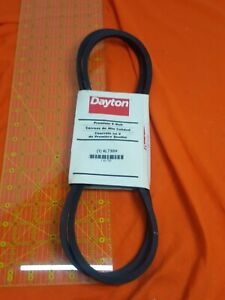 DAYTON Fabric Cover, Rubber Body, Polyester Cords V Belt,4L730