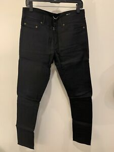 Hedi Slimane Saint Laurent DO2 Black Raw Denim 2014 Made In Japan - 32