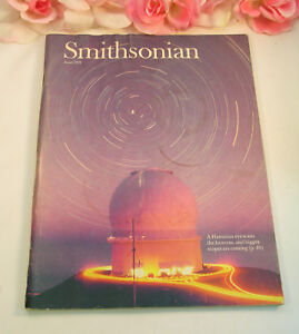 Smithsonian Magazine June 1987 Hawaiian Telescopes Mont Blanc Mini Golf Aphis $4.59