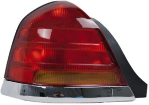 OE Replacement Ford Crown VictoriaLTD Driver Side Taillight Assembly Partsli...