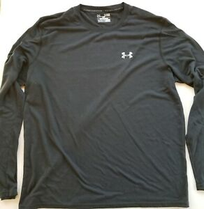 Flawed Under Armour Loose Heat Gear Threadborne ls Shirt Mens XL T-shirt