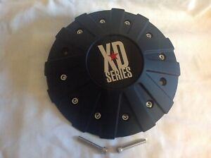 KMC XD Series Monster BLACK Center Hub Cap for 18 20 22 inch XD778 Rims 846L215B