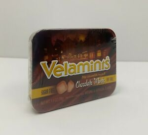 Set of 8 Sugar Free Chocolate Velamints Pocket Tins 1.4 oz each tin $31.95