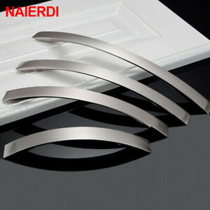 Stainless Steel Handles Modern Style Furniture Knobs 128mm/160mm/192mm