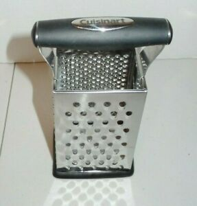 Stainless Steel Kitchen Cheese & Vegetable Grater Non-Slip Base Grip Handles