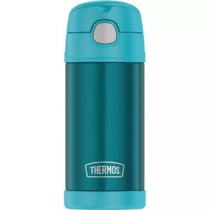 NEW Thermos FUNtainer Teal Water Bottle  - 12 OZ