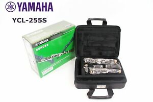 YAMAHA Clarinet YCL 255S Bb Free Shipping  perfect student instrument