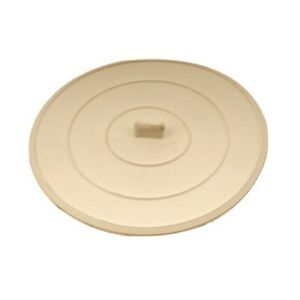 Single Suction Sink/ Shower/ Tub Stopper White Universal 5