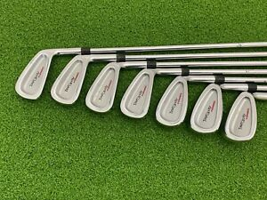 USED Golfsmith TOUR CAVITY FORGED Iron Set 4-PW Right Extended Steel LONG +4