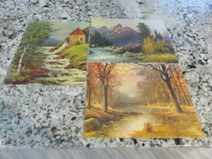 3 Vintage  Robert Wood Lithographs  11