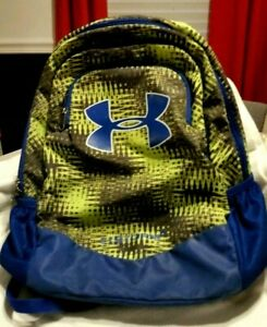UNDER ARMOUR Storm 1  Neon Green  Blue  19