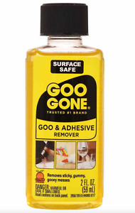 Goo Gone Citrus Cleaner Sticker Gum amp; Adhesive Remover Solvent 2oz