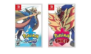 Pokemon Sword or Shield - Nintendo Switch