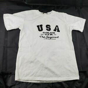 Golds Gym The Original Fitness Brand USA T Shirt size M Medium $15.80