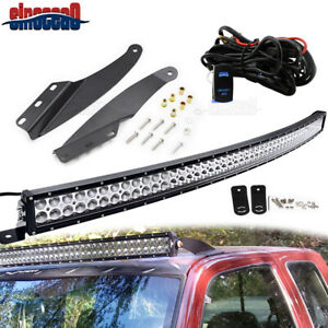 For Chevy GMC 1989 1998 52 Curved Light Bar Upper Roof Mounting Installing Kit $127.36