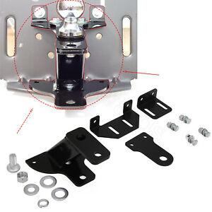 5 rise Universal 3 way Lawn Garden Tractor Hitch With Support Brace Kit $48.99