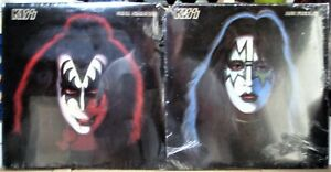 KISS INDIVIDUAL ALBUMS ALL 4    SEALED MAY NOT SEE THESE AGAIN