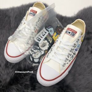 Converse X BT21 Chuck Taylor All Star Low White  BTS Limited Edition 163893C