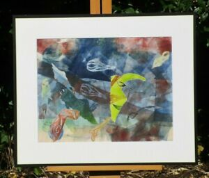 Eliza B. Gale Signed Abstract Lithograph