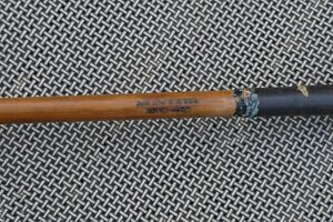 Antique Vintage Wood Shaft George Wright Patented Kro Kane Shafted Spoon