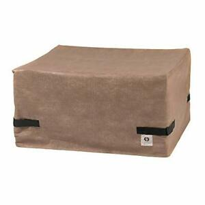 Duck Covers Elite Square Fire Pit Cover, 32-Inch 32L x 32W x 24H