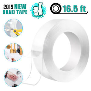 Double sided Grip Tape Traceless Washable Adhesive Gel Nano Invisible Paste Tape