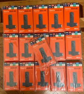 Lot Of 16 Amazon Fire TV Stick 4K Streaming Media Player Fast Ship!!