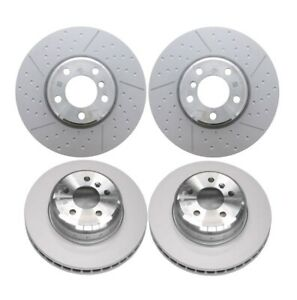 Front & Rear Genuine Disc Brake Rotors Kit for BMW F31 F34 F36 w M Sport Brake