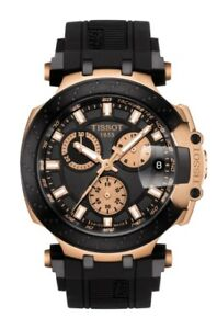 NEW TISSOT T-RACE CHRONO ROSE GOLD PVD CASE T1154173705100 T115.417.37.051.00