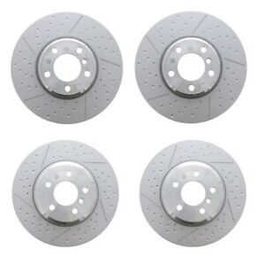 Genuine Front Rear Disc Brake Rotors Kit for BMW F30 F32 F33 F34 M Sport Brakes