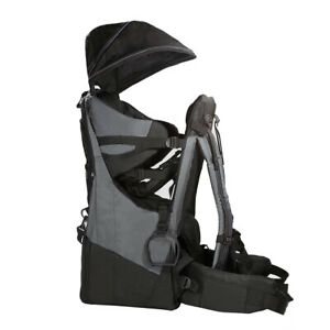 ClevrPlus Deluxe Baby Carrier Outdoor Light Hiking Child Backpack Camping Grey