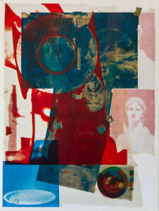 Robert Rauschenberg Quarry Local One (Foster 63) unsigned Litho mid century Art  $350.00