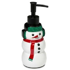 NEW Wondershop By Target Holiday Christmas Snowman Liquid Soap Dispenser