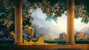Maxfield Parrish Fine Art Print - DAYBREAK - 22 x 38 - Directly from painting