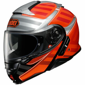 SHOEI Neotec 2 Splicer TC-8 Helmet OrangeRed Size M (57-58 cm )