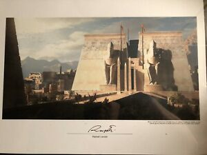 Assassins Creed Signed Lithograph By Artist 12pc + 1 Extra