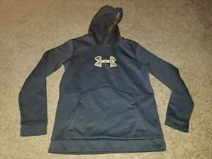 💥UNDER ARMOUR STORM LOOSE FIT HOODIE-YOUTH BOYS SIZE XL BLACK CAMO💥