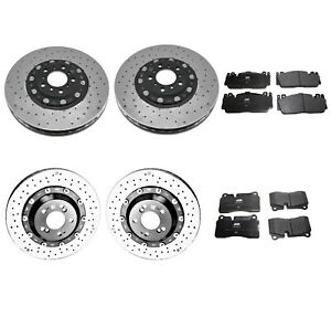 Genuine Front Rear Brake Kit Carbon Ceramic Disc Rotors Pads For BMW F80 F82 F83