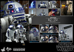 Hot Toys Star Wars R2-D2 Dexlue Version 16 Scale Diecast Figure In Stock