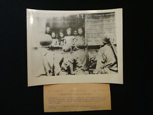 WW2 Original ACME Telephoto quot;WELCOME BACK TO THE PHILLIPINESquot; 10 27 1944 Leyte