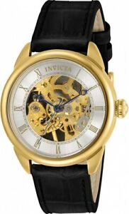 Invicta Specialty Mechanical Silver Skeletonized Dial Ladies Watch 31151