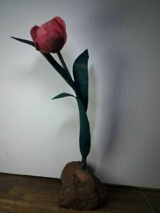 Metal sculptures tulip $14.99