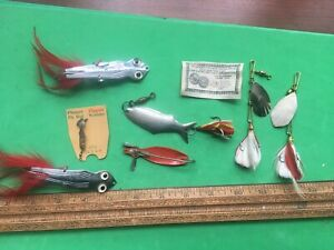 LOT OF METAL LURE PFLUEGER HERTERS & MORE