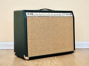 Allen Encore 1x12 Boutique Tube Combo Amp Green Tolex Jensen Blackbird Speaker