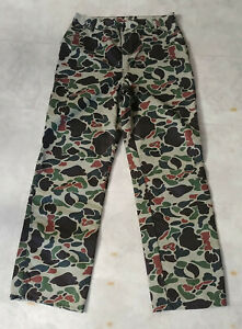 Vintage Walls Blizzard Pruf Insulated Thinsulate 3M Pants 36 Tall Camo Hunting