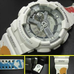 CASIO G-SHOCK GA110C111 limited BMW logo & X1 logo & paint design pattern