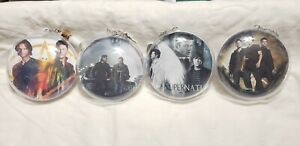 Handmade quot;Supernatural quot; Christmas Ornament Sam and Dean Winchester Set of 4