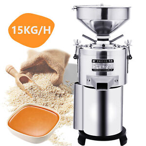 15KG/H Commercial Electric Sesame Peanut Butter Grinding Machine 1100W