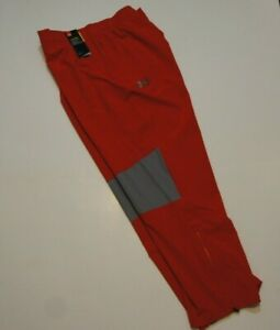 Red Under Armour Storm Heat Gear AthleticTraining Pants XXXL 3XL MSRP $60 $27.99